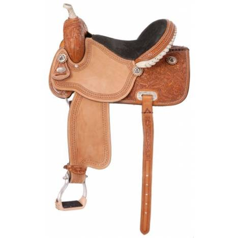 Silver Royal Randall Barrel Saddle Package