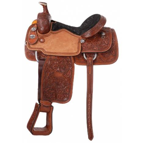Silver Royal Rising Star Calf Roper Saddle Package