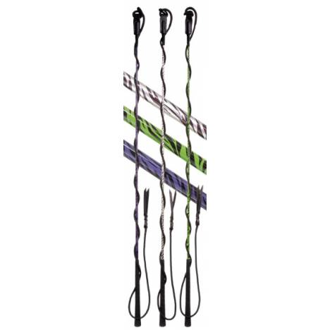 Tough-1 Youth Training Whip with 4 1/2' Lash in Prints