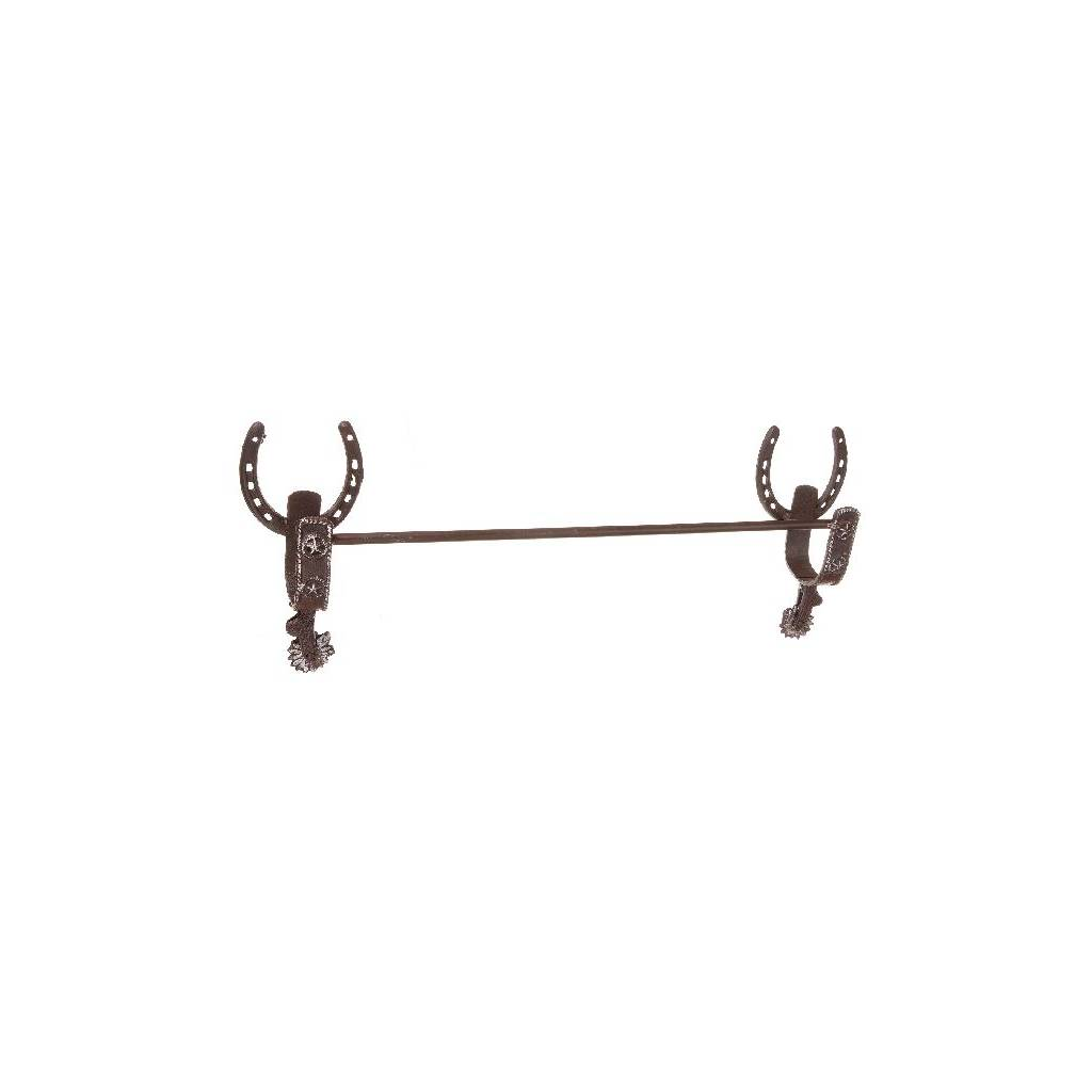 Gift Corral Horseshoe Towel Rack