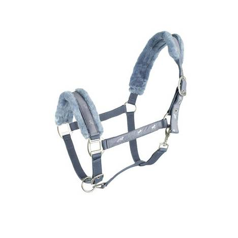 HorZe Basel Plush Halter and Lead Set