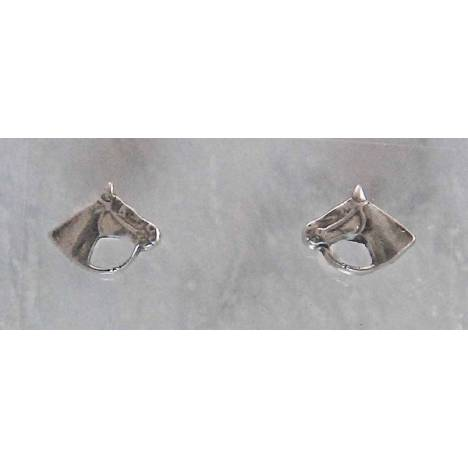 Finishing Touch Horse Head with Bridle & Reins Earrings