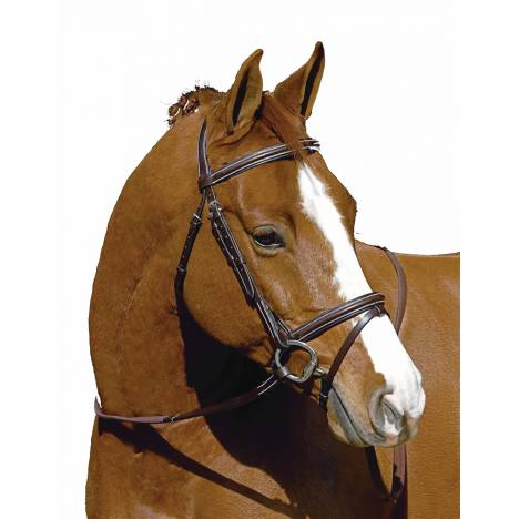 Henri De Rivel Monocrown Event Bridle - FREE Equine Couture Saddle Pad with Purchase
