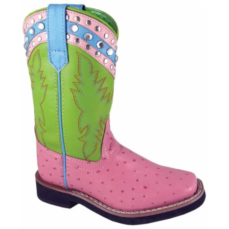 Smoky Mountain Youth Billie Jean Square Toe Boot