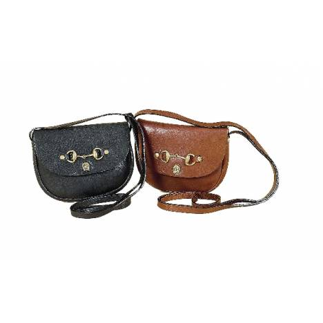 Tory Leather Miniature Shoulder Bag With Snaffle Bit