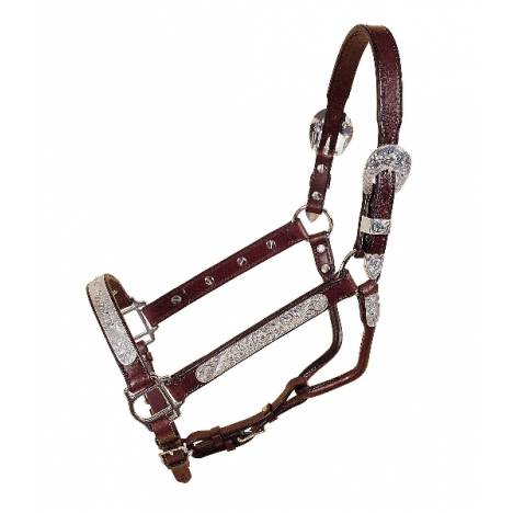 Tory Leather Pecos Bill Straight Cheek Show Halter