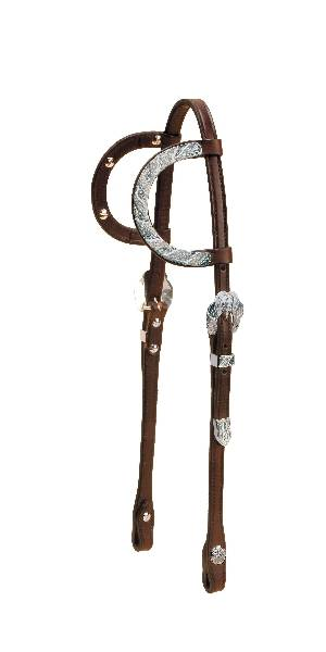 Tory Leather Fila Sliding Double Ear Headstall