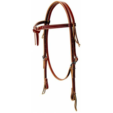 Weaver Leather Knotted Browband Headstall