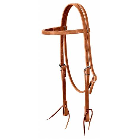 Weaver Leather Harness Leather Brow Band Headstall