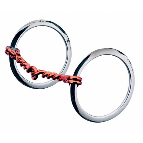 Weaver Leather Single Twisted Wire Ring Snaffle Bit