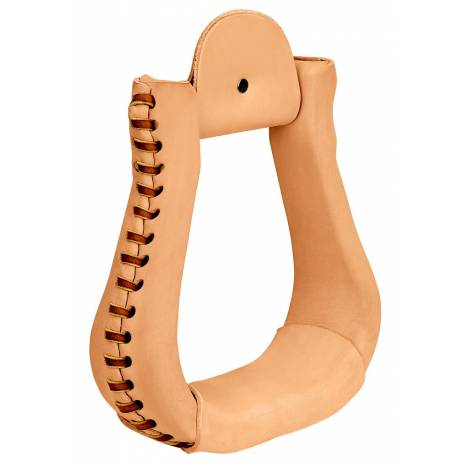 Weaver Leather Leather Covered Bell Stirrups