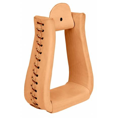 Weaver Leather Leather Covered Roper Stirrups