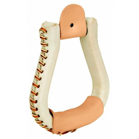 Weaver Leather Rawhide Covered Contest Stirrups