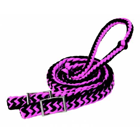 Weaver Leather Braided Nylon Barrel Rein