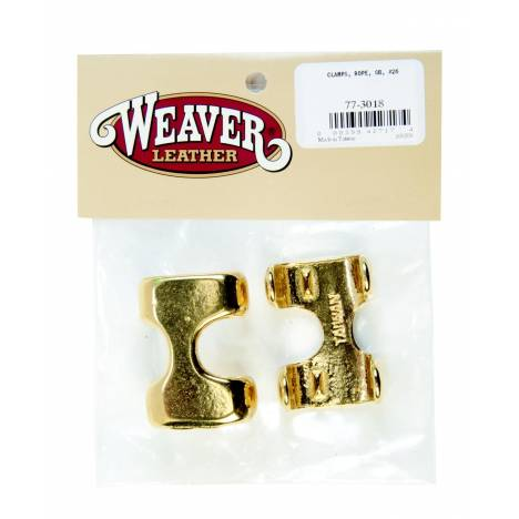 Weaver Leather Bagged 26 Rope Clamps
