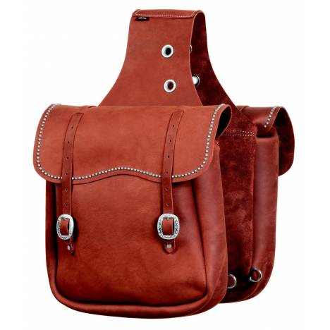 Weaver Leather Saddle Bag With Spots