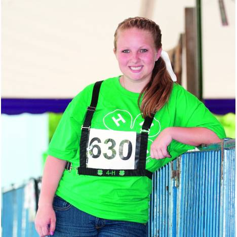 Weaver Leather 4-H Exhibitor Number Harness