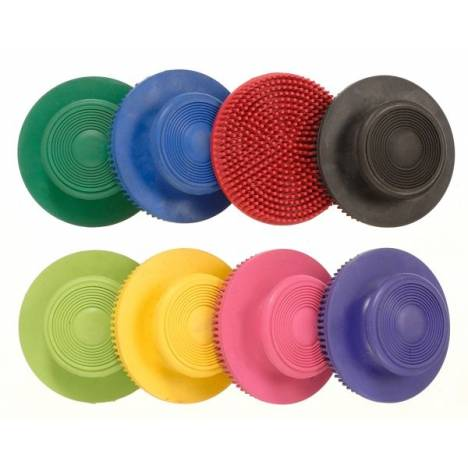 Tough-1 Soft Rubber Face Curry - 6 Pack