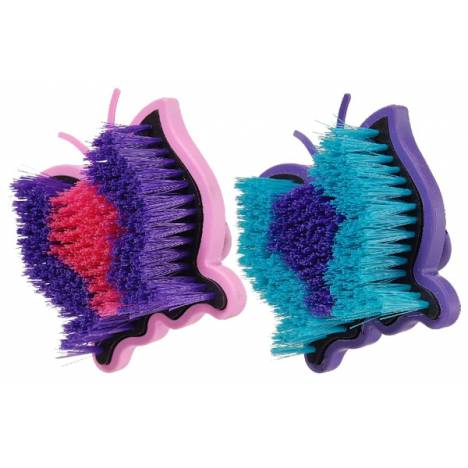 Tough-1 Butterfly Palm Grip Medium Brushes - 6 Pack