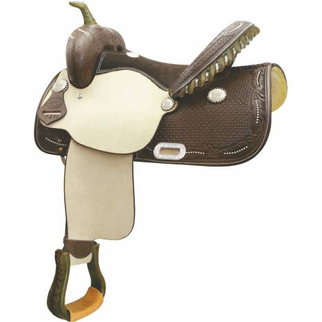 Billy Cook Saddlery Spotted Feather Racer