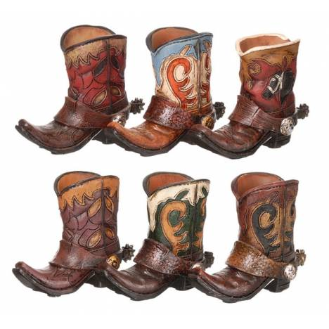 Gift Corral Cowboy Boot Toothpick Holder