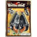 Gift Corral Double Pistol with Holsters