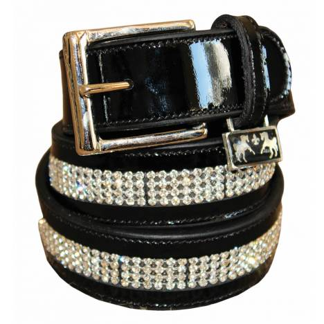 Equine Couture Ladies Bling Leather Belt