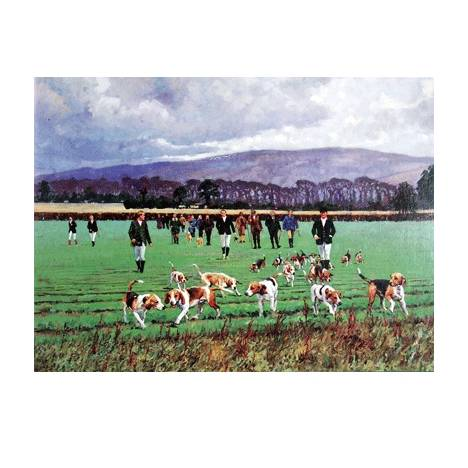 The Shrivenham Beagles Blank Greeting Cards - 6 Pack