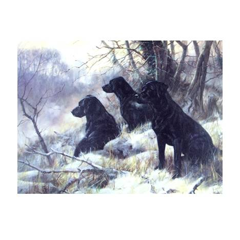 Three Wise Men (Labrador Retrievers) Blank Greeting Cards - 6 Pack