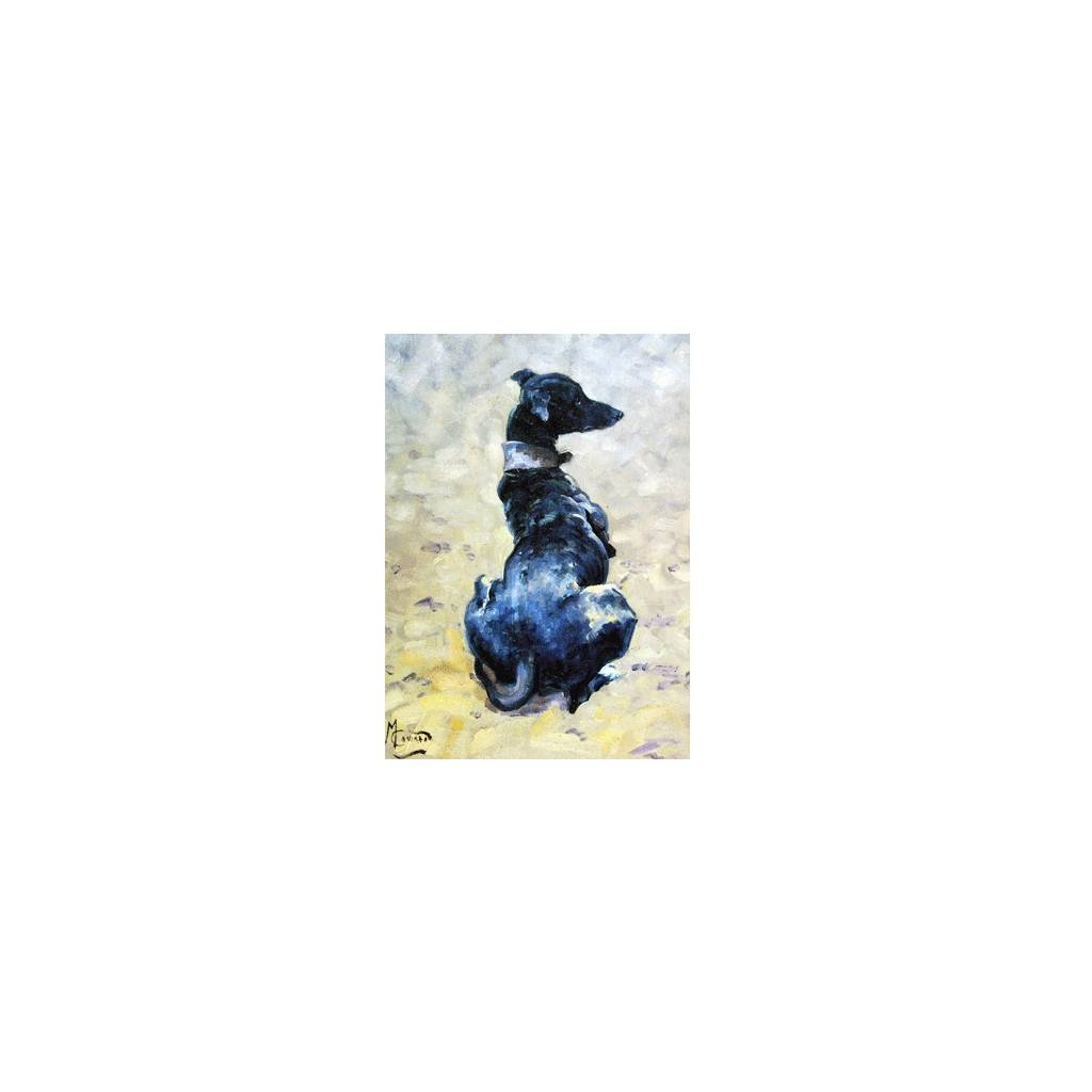 The Lurcher Blank Greeting Cards - 6 Pack