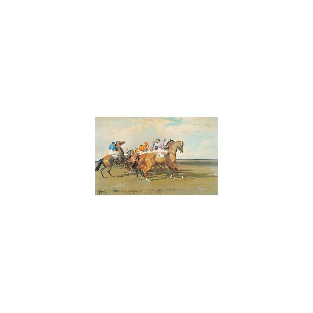 Under Starters Orders By: Alfred Munnings
