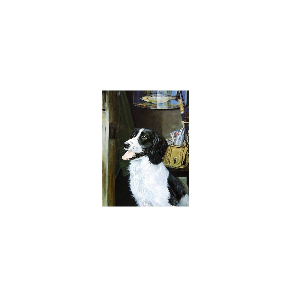 Fishermans Friend (English Springer) Blank Greeting Cards - 6 Pack