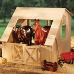 Breyer Wood 2 Stall Barn