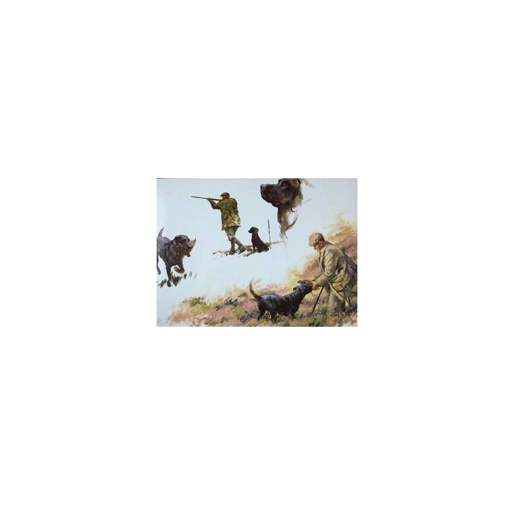 Mans Best Friend (Labrador Retrievers) Blank Greeting Cards - 6 Pack