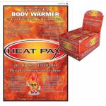 Techniche Heat Pax Body Warmers Display
