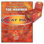 Techniche Heat Pax Toe Warmers Display