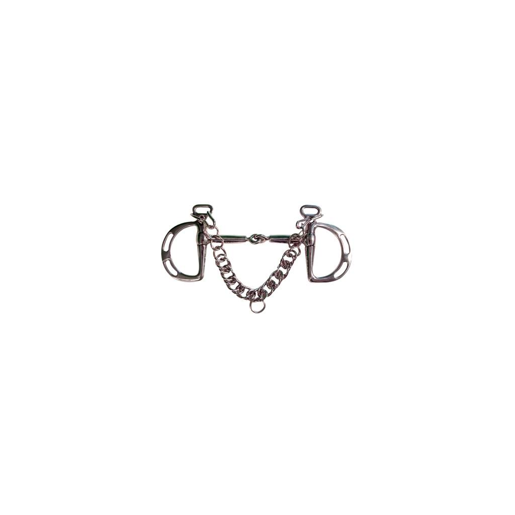 Robart Pinchless Kimberwick Snaffle Bit