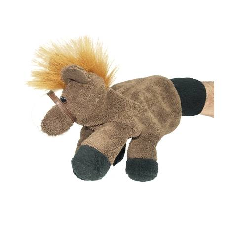 Albert Fat Pony Hand Puppet You make him dance, gallop and rear!