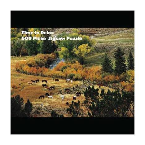 Puzzle - Relaxed Herd in the Valley