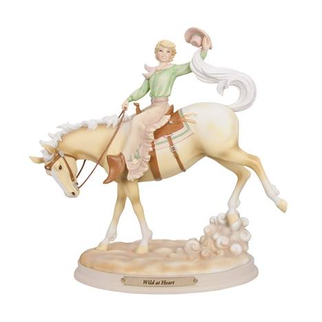 Horse Whispers Wild at Heart Figurine