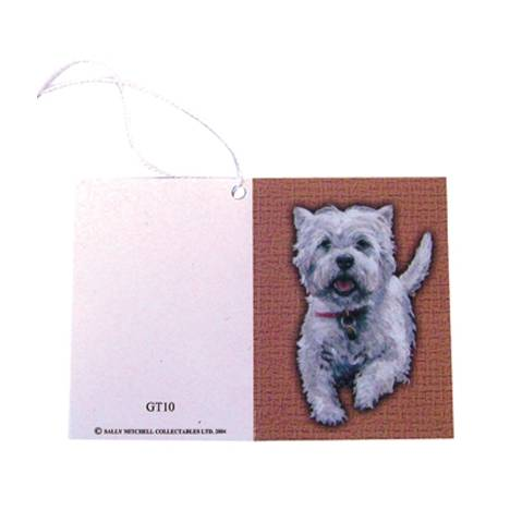 Gift Tags with String - Westie