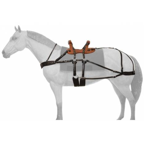 Tough-1 Classic Sawback Pack Saddle