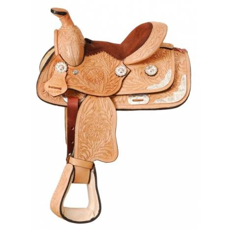 King Series Miniature Tooled Show Saddle Package