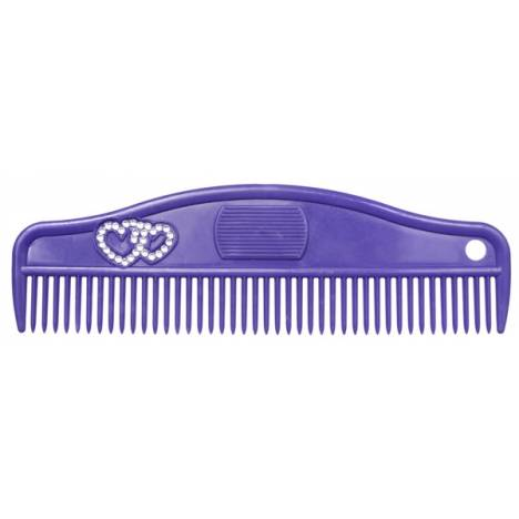 Tough-1 8 1/2 Grip Comb with Crystals - 6 Pack