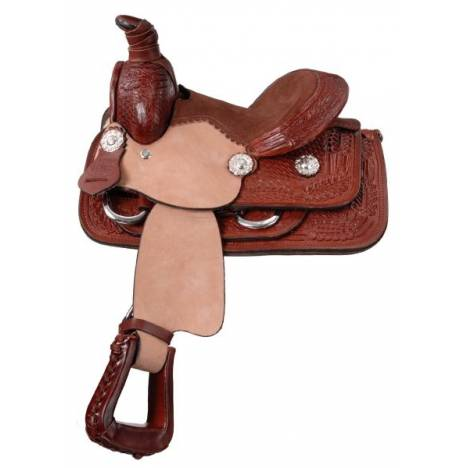 King Series Miniature Western Roper Saddle Package
