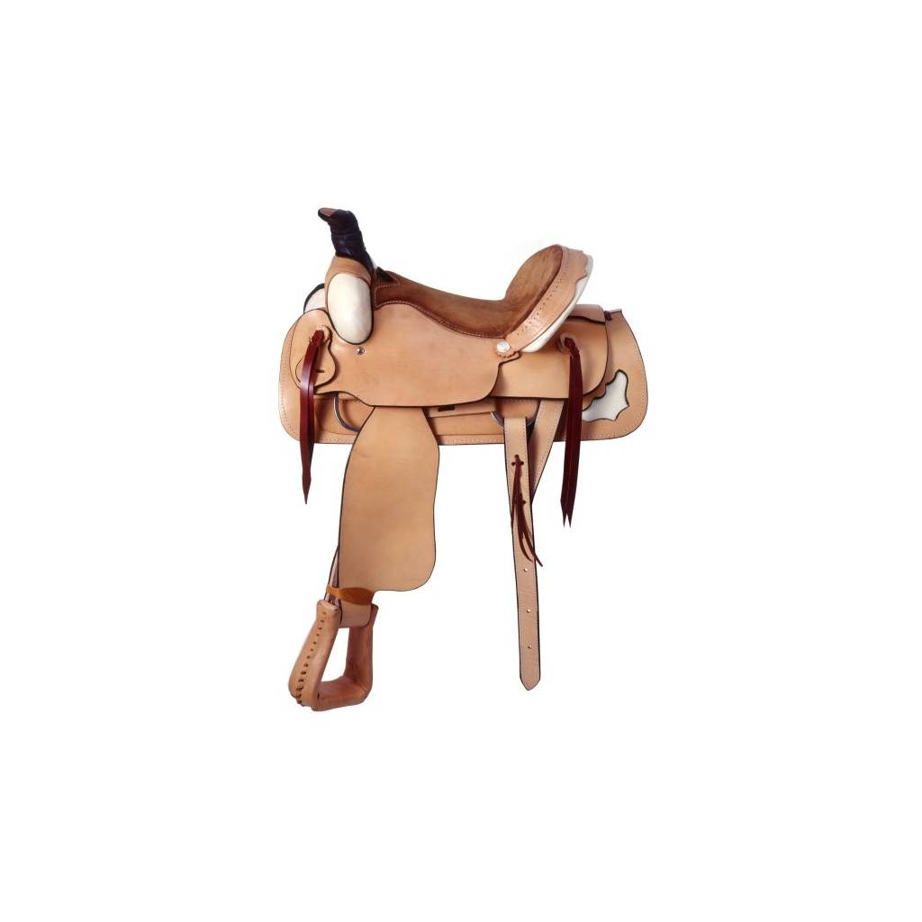 Royal King Saddle Rawhide Roper Saddle Package