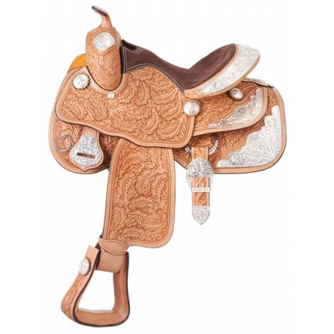 Silver Royal Youth Royal Oak Silver Show Saddle