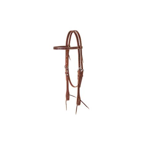 Barbed Wire Browband Headstall