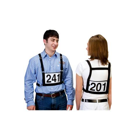 Exhibitor Number Harness