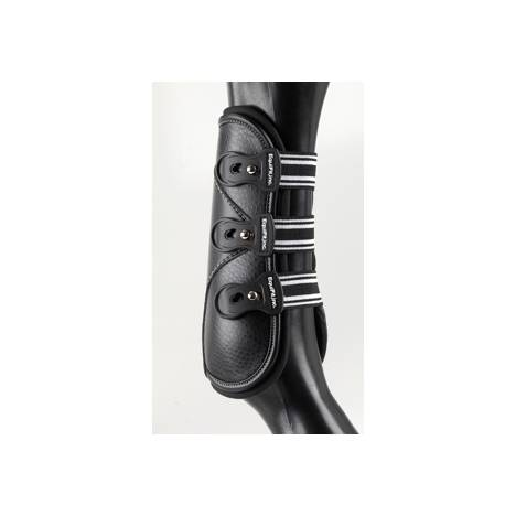 EquiFit D-TEQ Boots with ImpacTeq Liners - Urethane Tab - Front